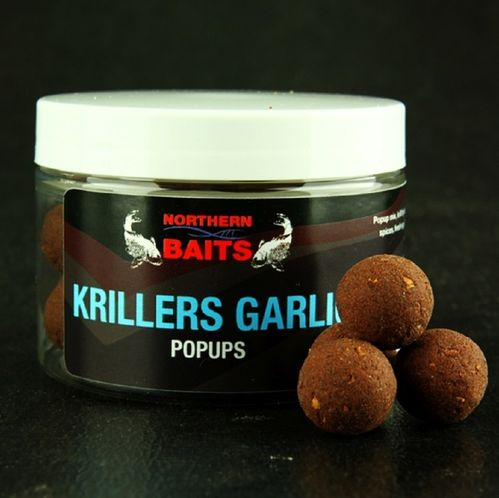 NORTHERN BAITS KRILLERS GARLIC POP UPS 15 mm