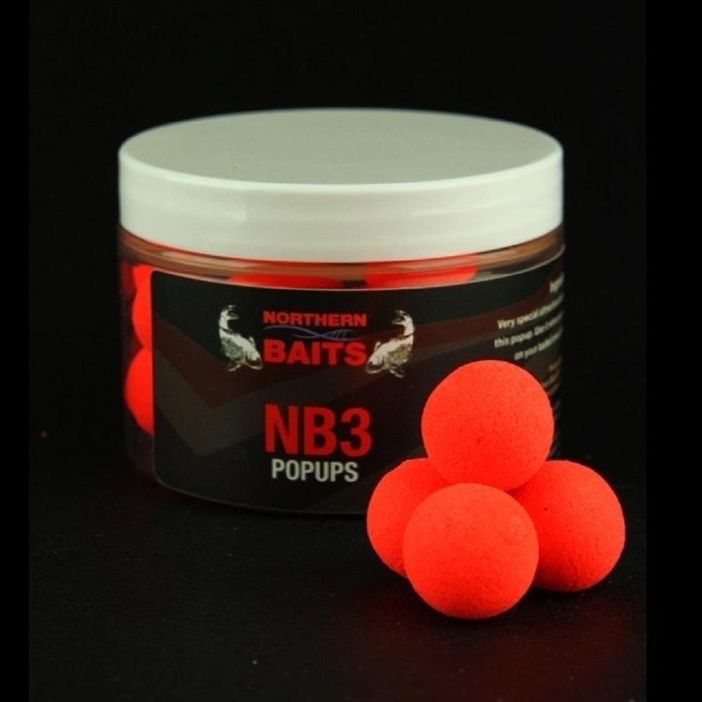 NORTHERN BAITS POP UPS NB3 15 MM EL CARPODROMO