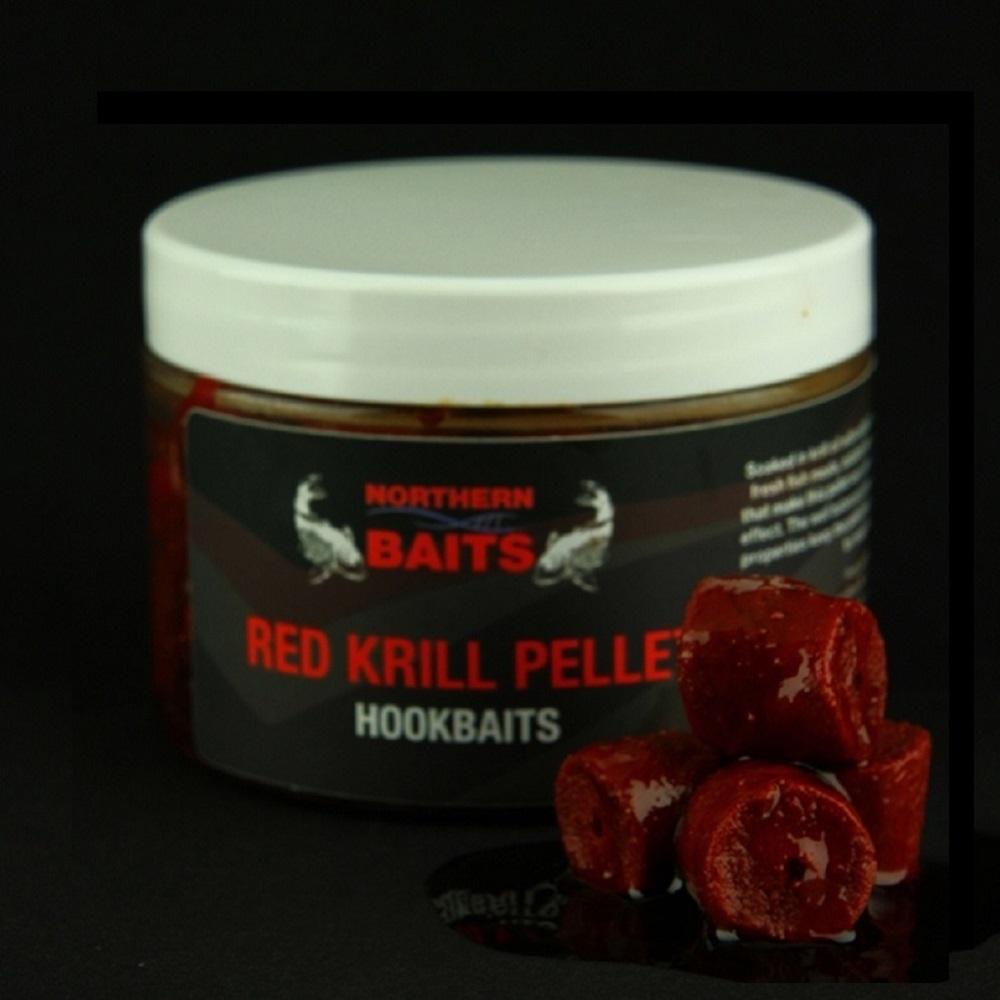 NORTHERN BAITS RED KRILL PELLETS HOOKBAITS 20 MM EL CARPODROMO
