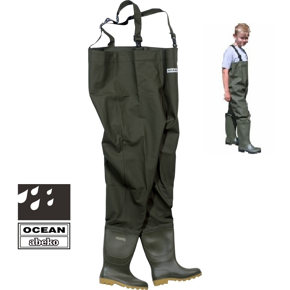 OCEAN JUNIOR CHEST WADER TALLE 34 EL CARPODROMO