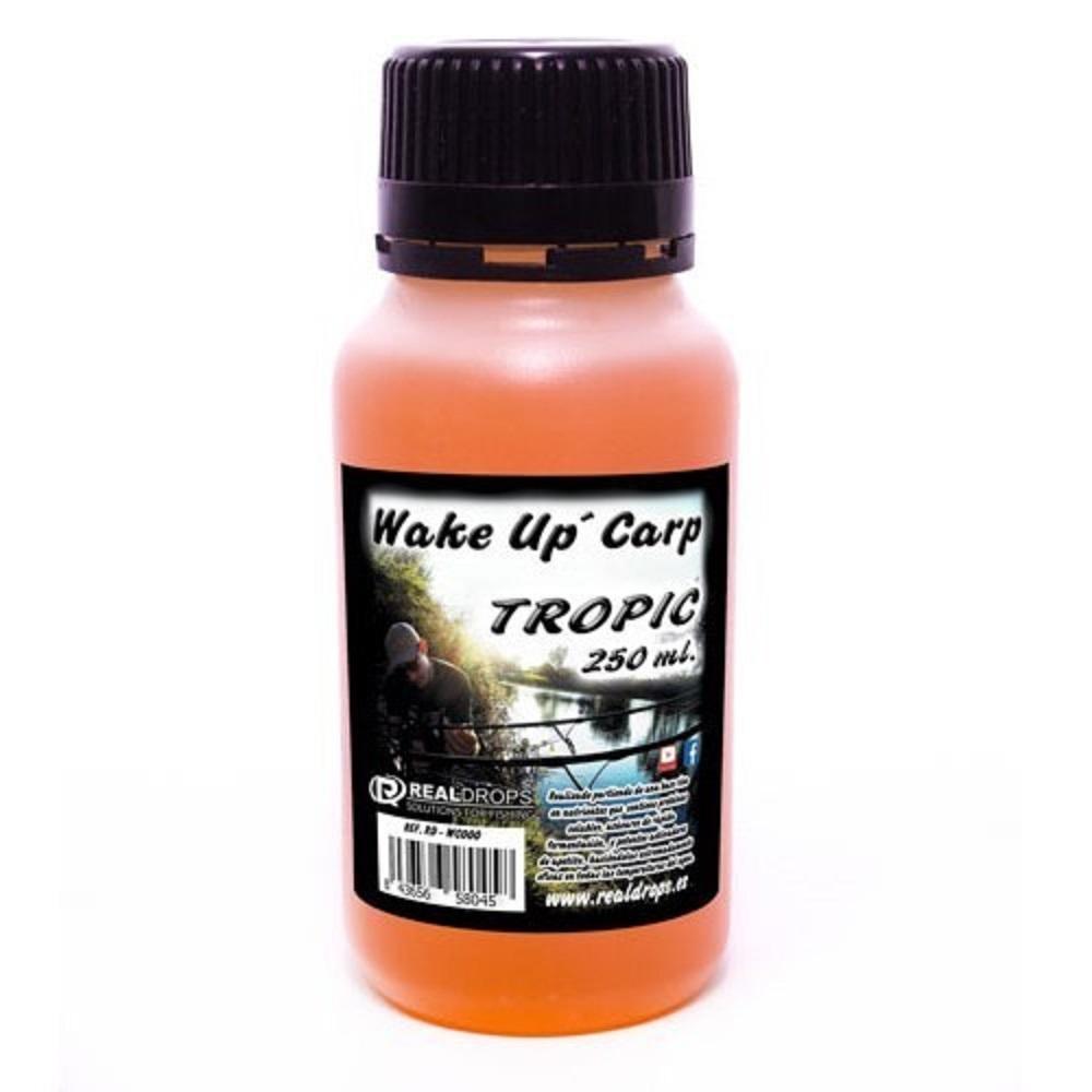 REAL DROPS WAKE UP CARP TROPIC 250 ML EL CARPODROMO