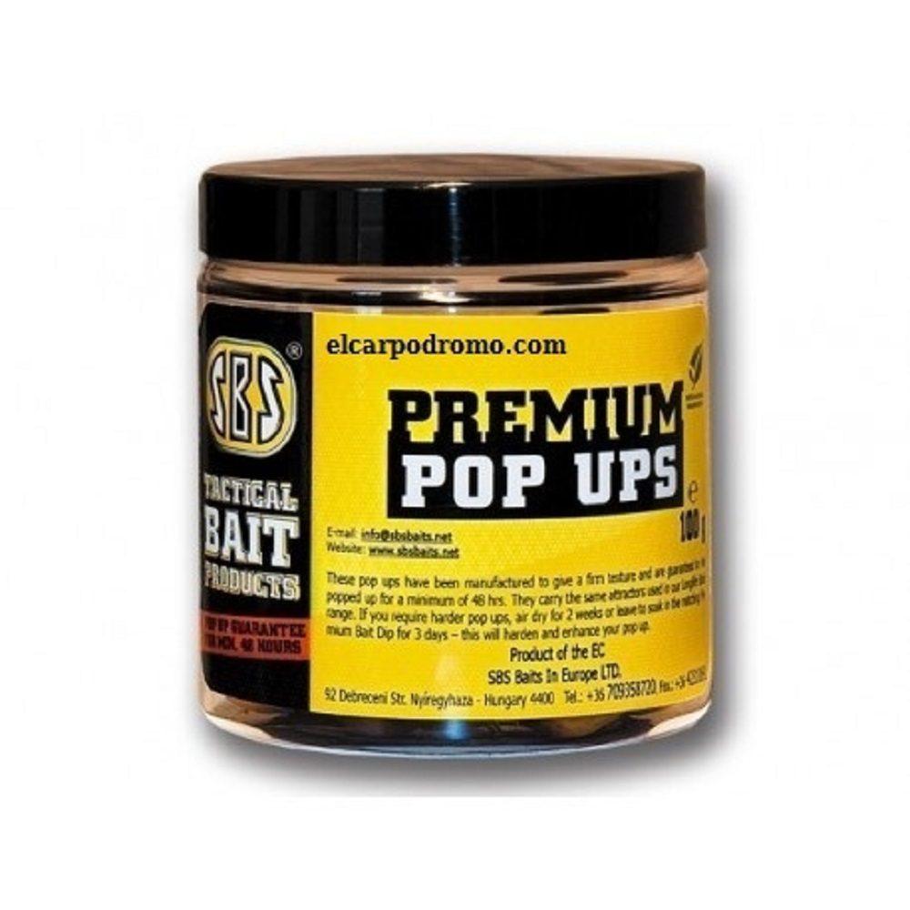 SBS PREMIUM POP UPS M1 ROJO 16 18 20 MM 100 G EL CARPODROMO