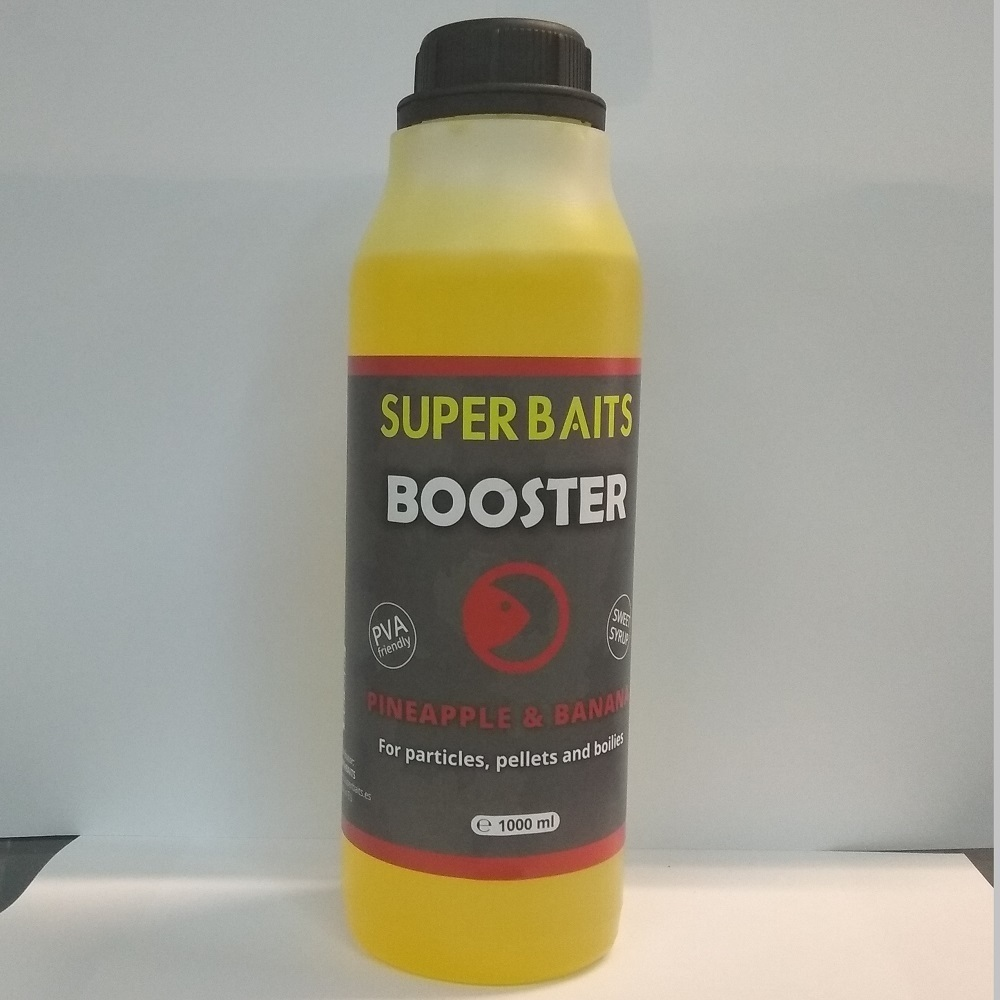 SUPER BAITS BOOSTER PINEAPPLE BANANA 1 L EL CARPODROMO