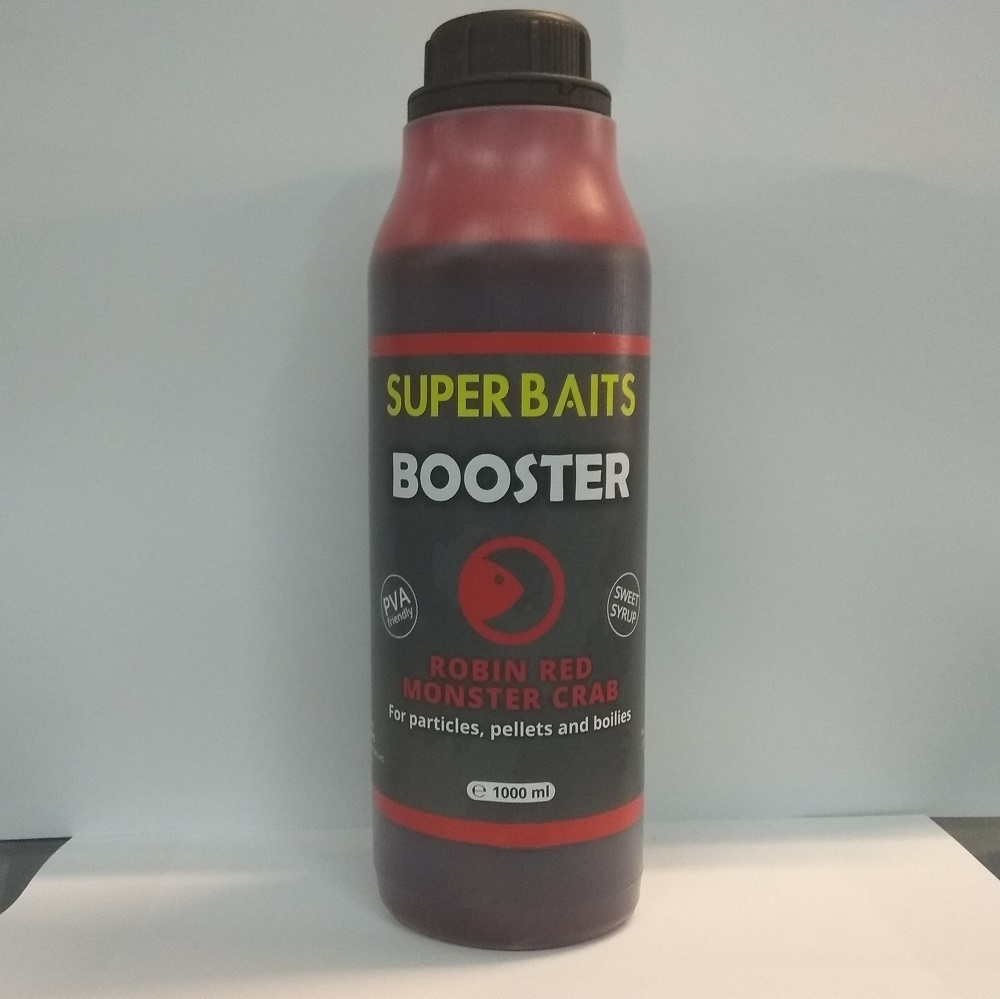 SUPER BAITS BOOSTER ROBIN RED MONSTER CRAB 1 L EL CARPODROMO