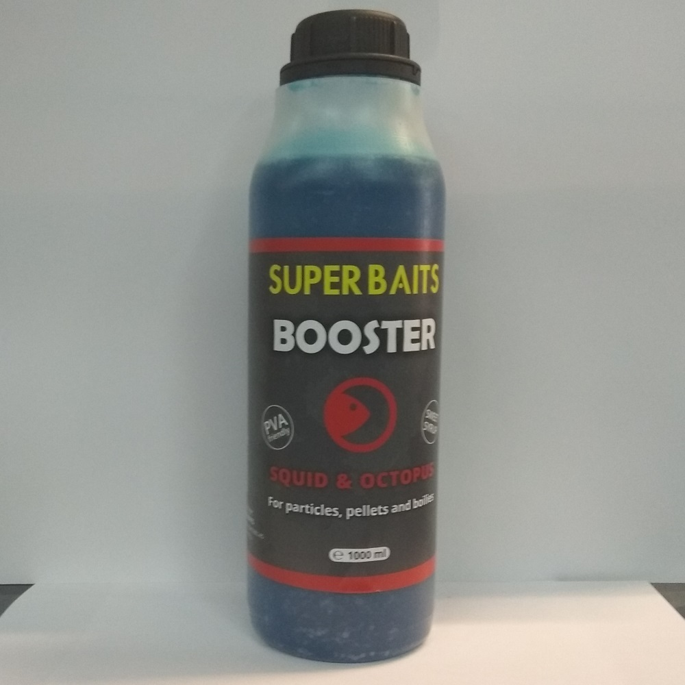 SUPER BAITS BOOSTER SQUID OCTOPUS 1 L EL CARPODROMO