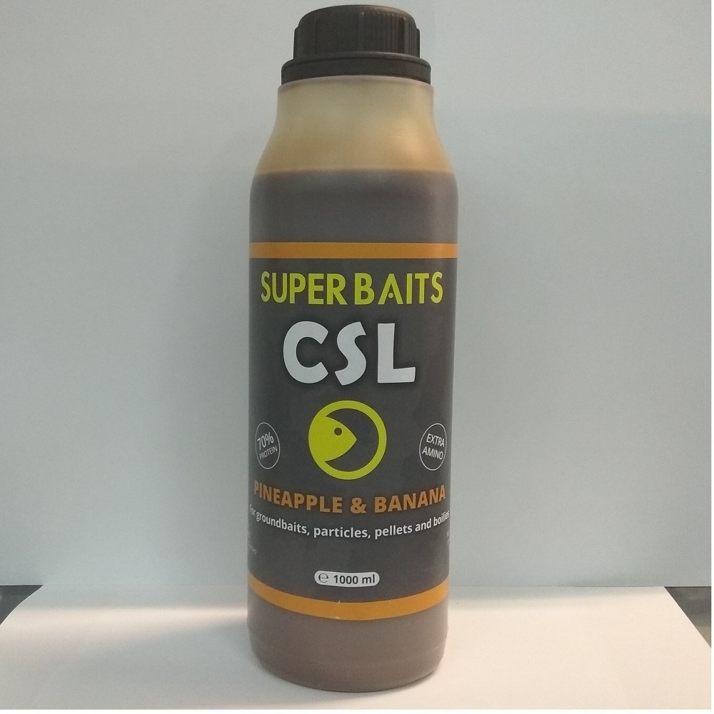 SUPER BAITS CSL PINEAPPLE BANANA 1 L EL CARPODROMO