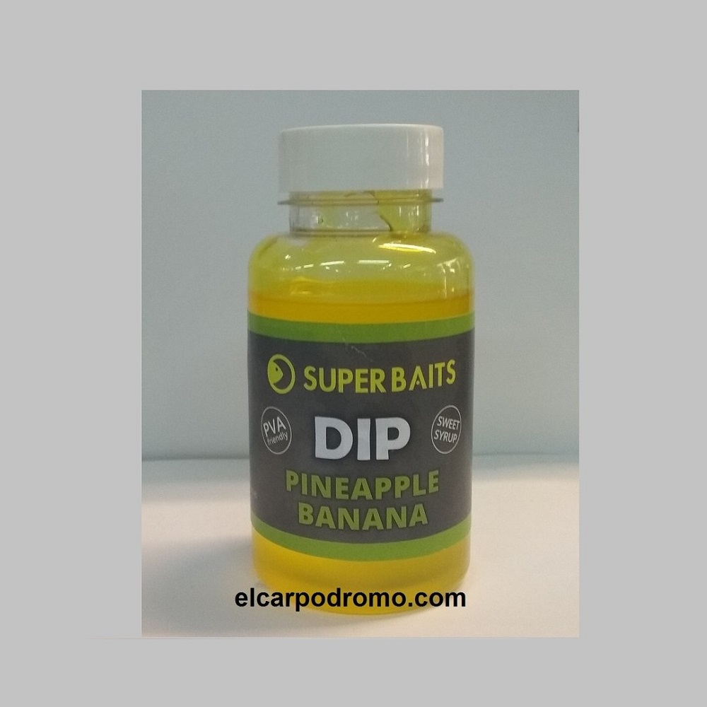 SUPER BAITS DIP PINEAPPLE BANANA EL CARPODROMO
