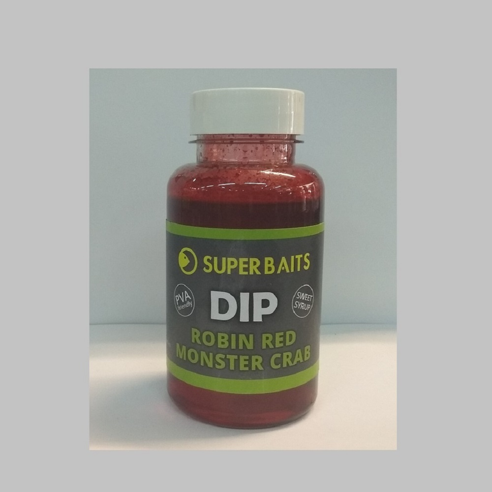 SUPER BAITS DIP ROBIN RED MONSTER CRAB EL CARPODROMO