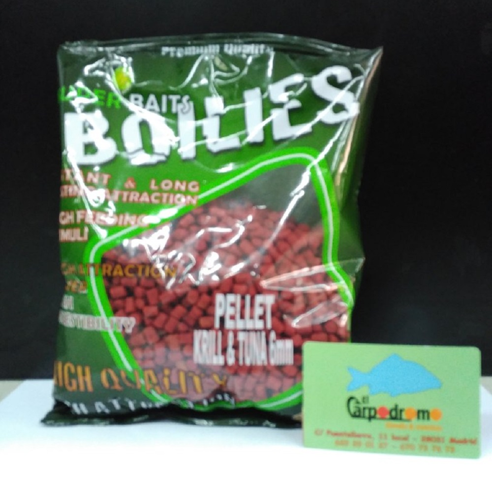 SUPER BAITS PELLETS KRILL TUNA 6 MM EL CARPODROMO