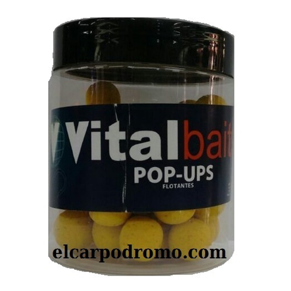 VITALBAITS POP UPS BANANA GLM 14 MM EL CARPODROMO