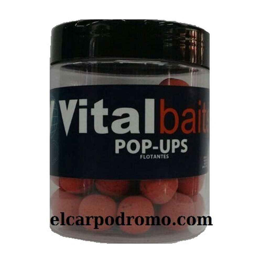VITALBAITS POP UPS KRILLAM 20 MM EL CARPODROMO