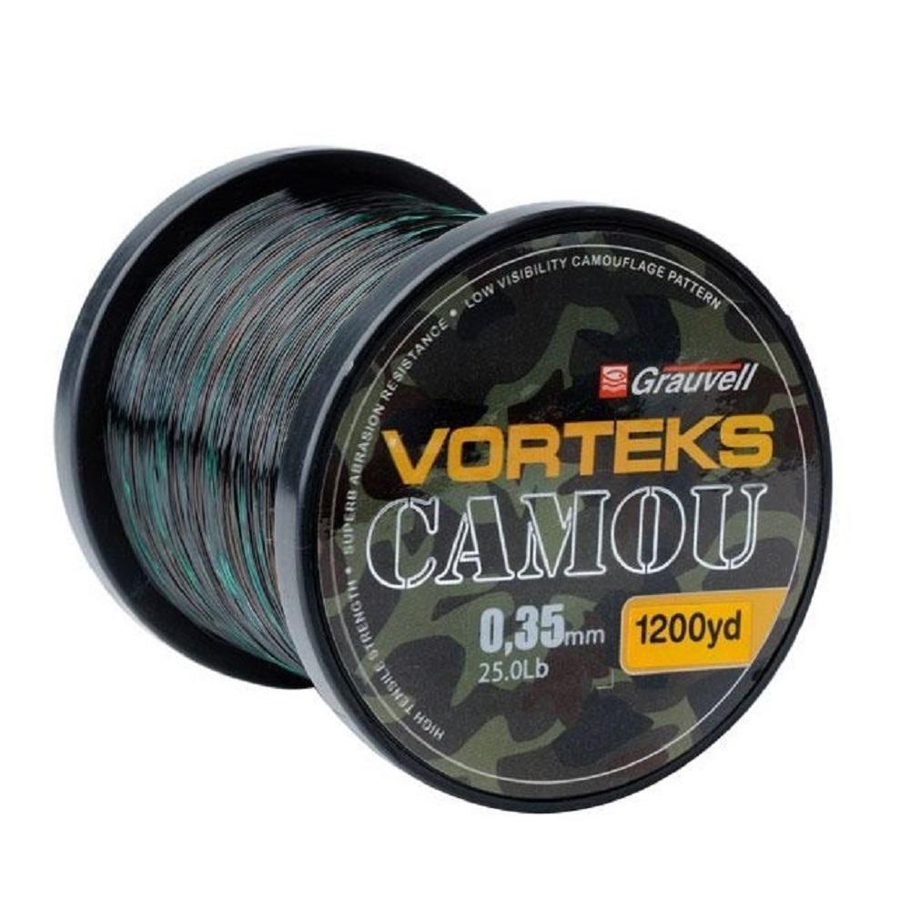 VORTEKS CAMOU 35MM 25LBS 1100M EL CARPODROMO