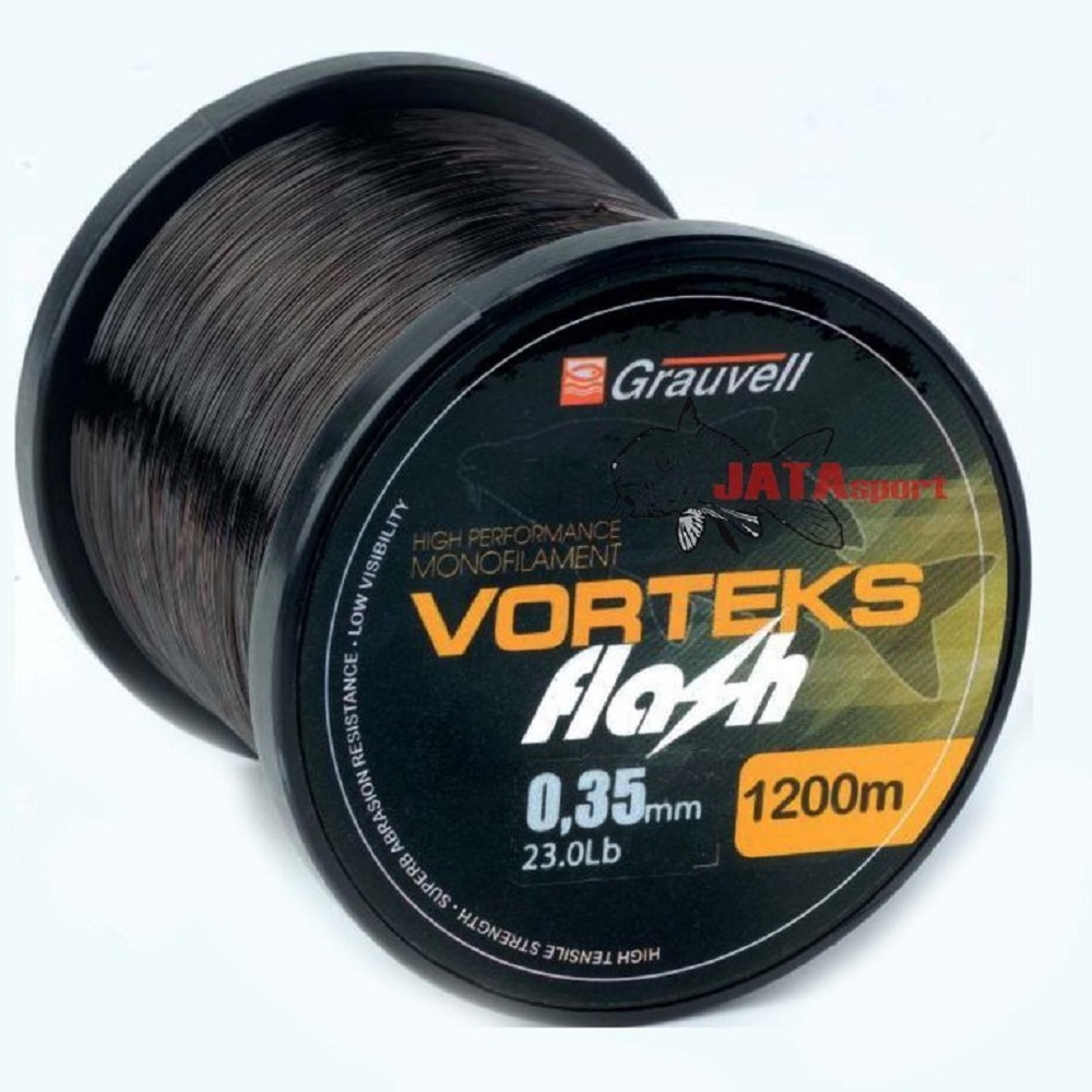 VORTEKS FLASH GRAUVELL 35 MM 23 LBS 1200 MTS EL CARPODROMO