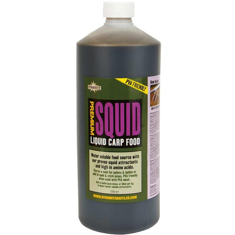 dynamite baits premium squid liqud carp food 1ltr