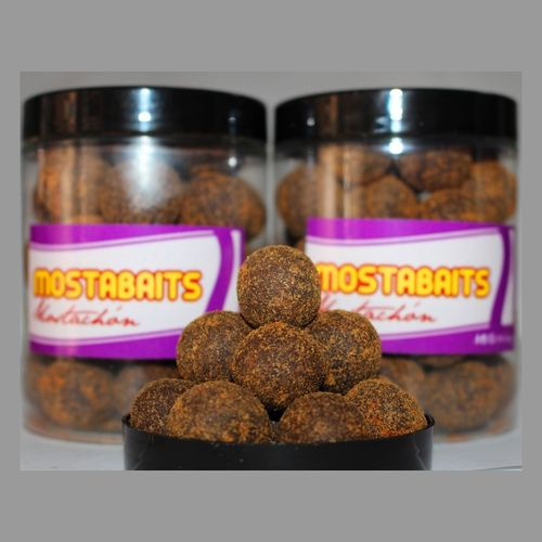 MOSTABAITS BOILIES RED LIVER 20 mm