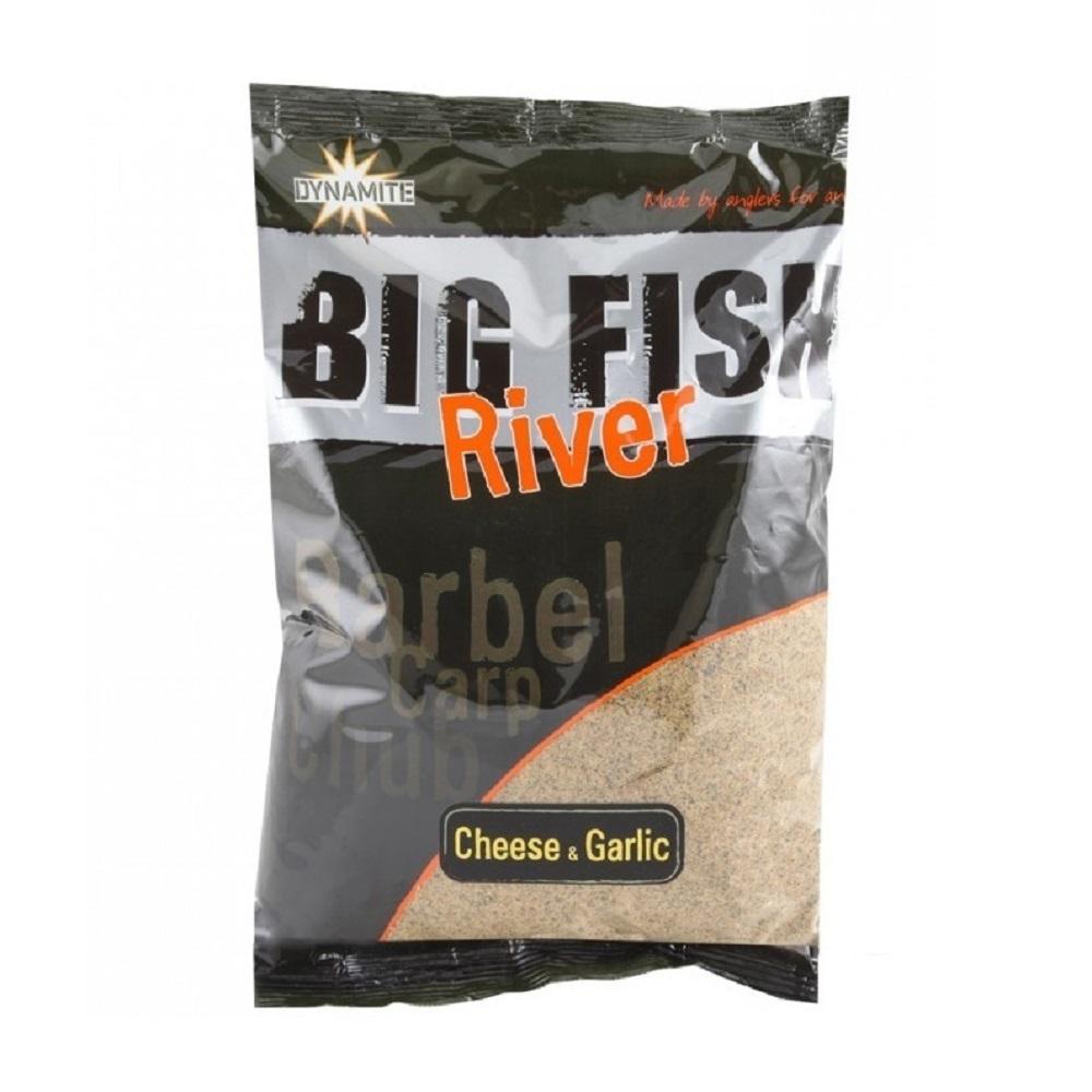 DYNAMITE BAITS GROUNDBAIT BIG FISH RIVER CHEESE GARLIC 18 KG EL CARPODROMO