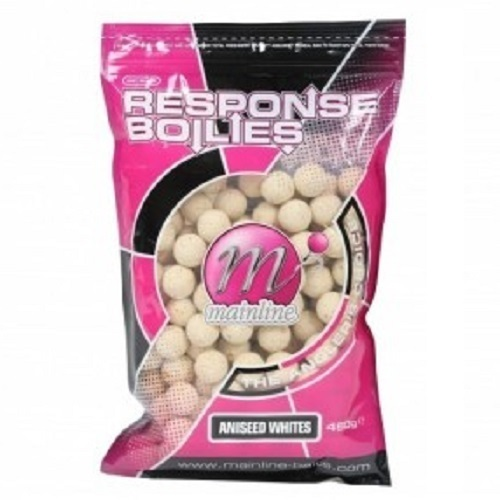 MAINLINE RESPONSE BOILIES ANISSED WHITE 15mm 500g EL CARPODROMO