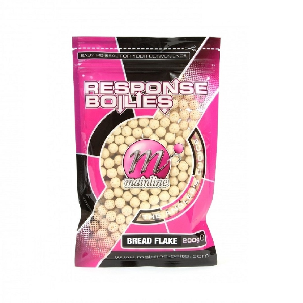 MAINLINE RESPONSE BOILIES BREAD FLAKE 10mm 200g EL CARPODROMO