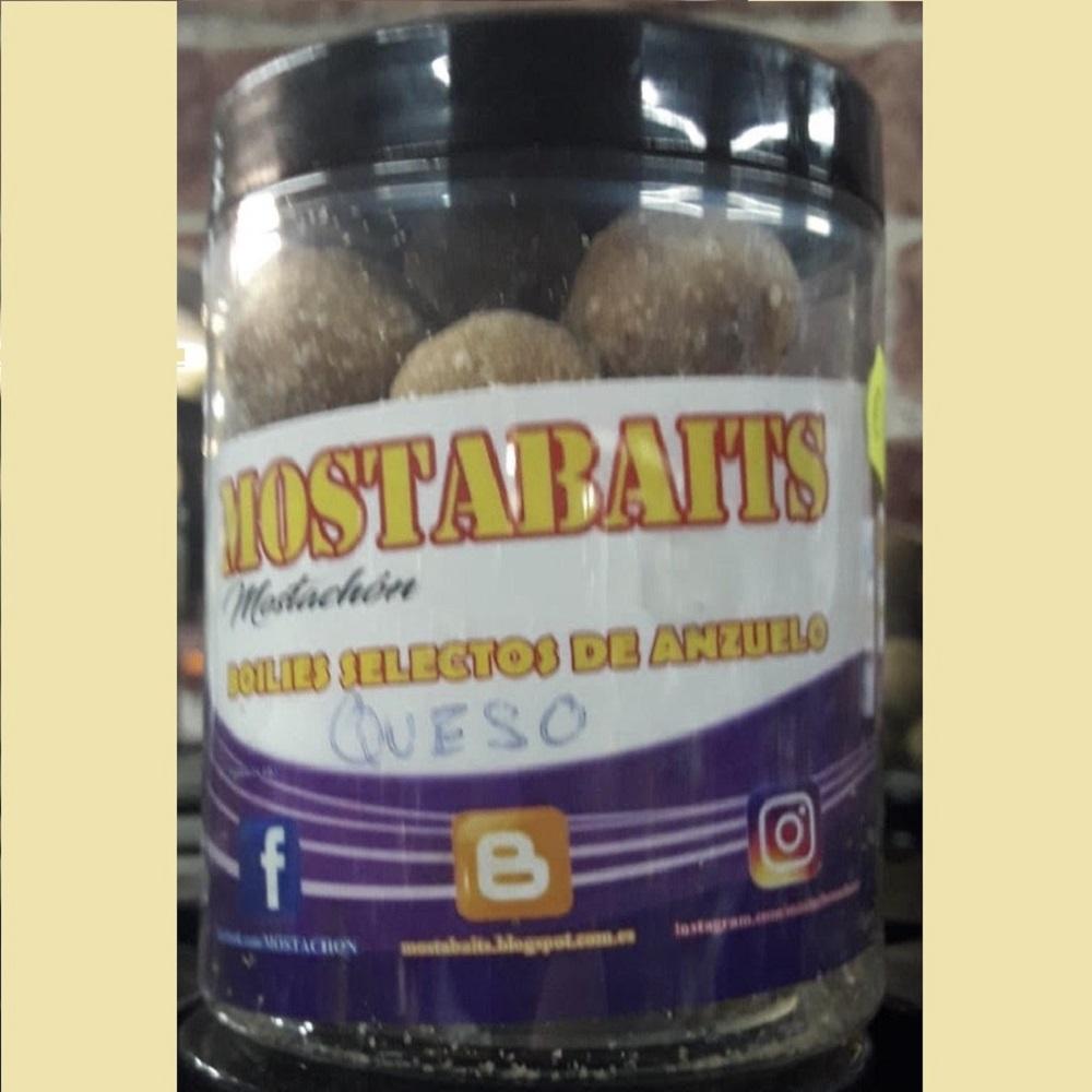 MOSTABAITS MOSTACHÓN BOILIES QUESO EL CARPODROMO