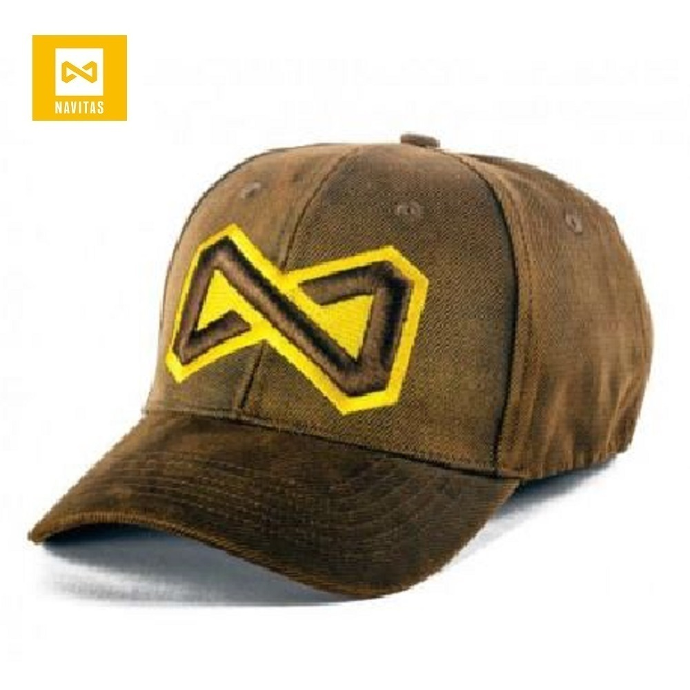 NAVITAS WAXED NFINITY CAP BROWN EL CARPODROMO