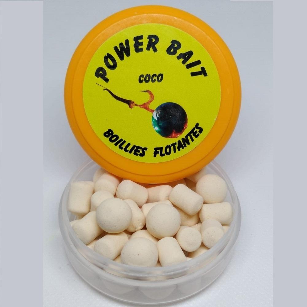 POWER BAIT BOILIES FLOTANTES COCO