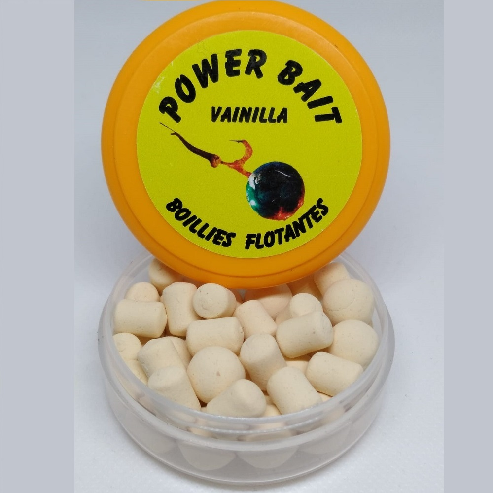 POWER BAIT BOILIES FLOTANTES VAINILLA 1
