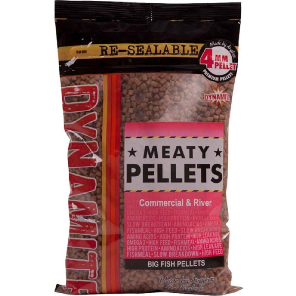 DYNAMITE MEATY PELLETS 4 MM 900 G EL CARPODROMO