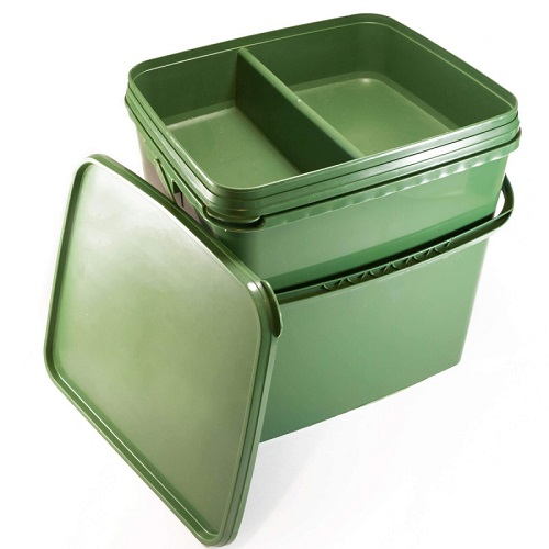 FORGE TACKLE SQUARE BUCKET WITH TRAY EL CARPODROMO