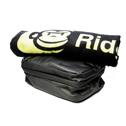RIDGEMONKEY LX BATH TOWEL AND WEATHERPROOF SHOWER CADDY SET EL CARPODROMO