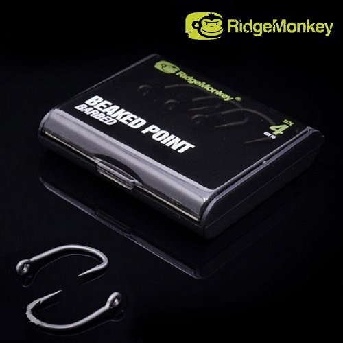 RIDGEMONKEY RM TEC BEAKED POINT HOOK BARBED Nº 2 EL CARPODROMO