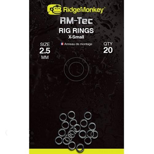 RIDGEMONKEY RM TEC RIG RING X SMALL 2.5 MM EL CARPODROMO