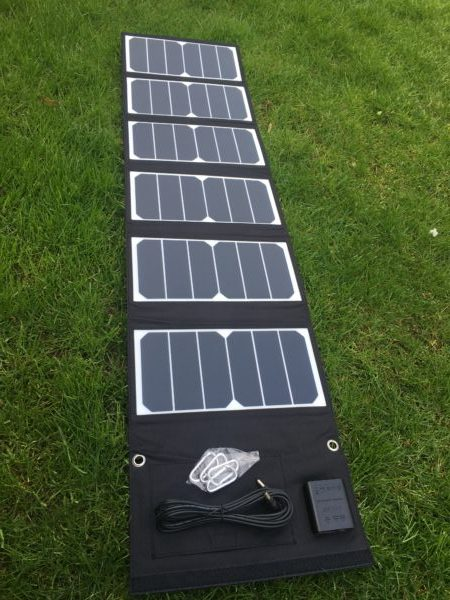 POWAPACS 40W SUNPOWER SOLAR PANEL EL CARPODROMO 2