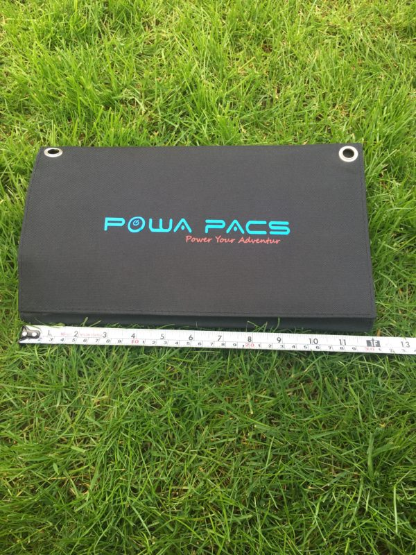 POWAPACS 40W SUNPOWER SOLAR PANEL EL CARPODROMO 3