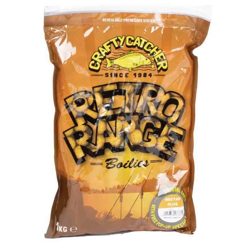 CRAFTY CATCHER BOILIES RETRO RANGE NECTAR PLUS 15 MM 1 KG EL CARPODROMO