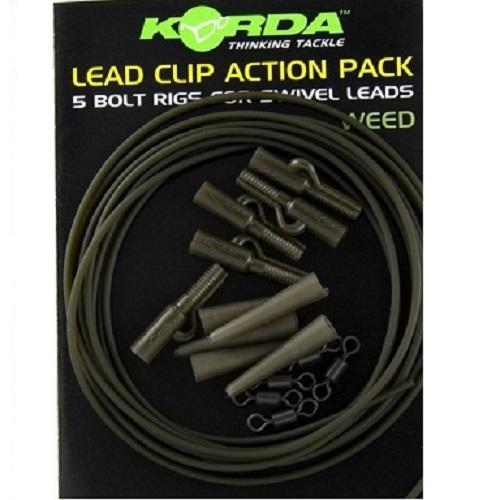 KORDA LED CLIP ACTION PACK WEED EL CARPODROMO 1