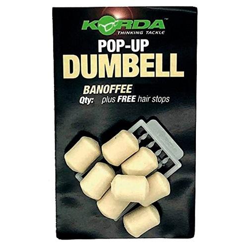 KORDA POP UPS DUMBELL BANOFFEE 16 MM EL CARPODROMO