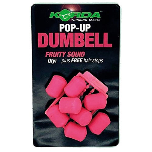 KORDA POP UPS DUMBELL FRUITY SQUID 8 MM