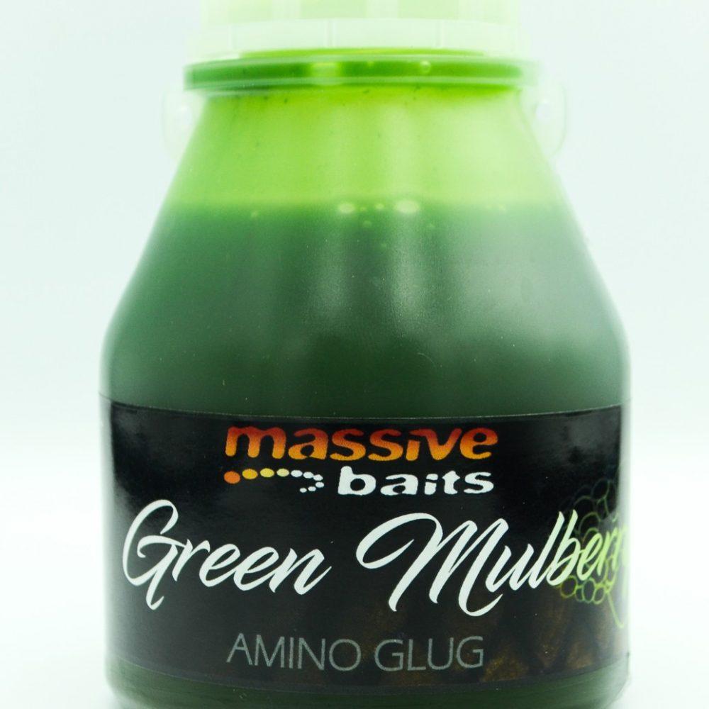 Massive Baits Glug Green Mulberry 250 ml elcarpodromo.com1