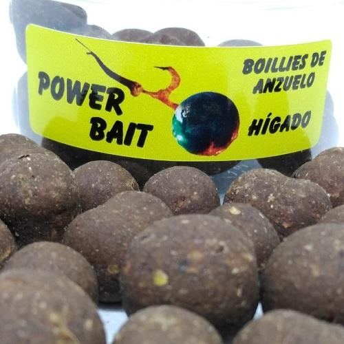POWER BAIT BOILIES DE ANZUELO HIGADO