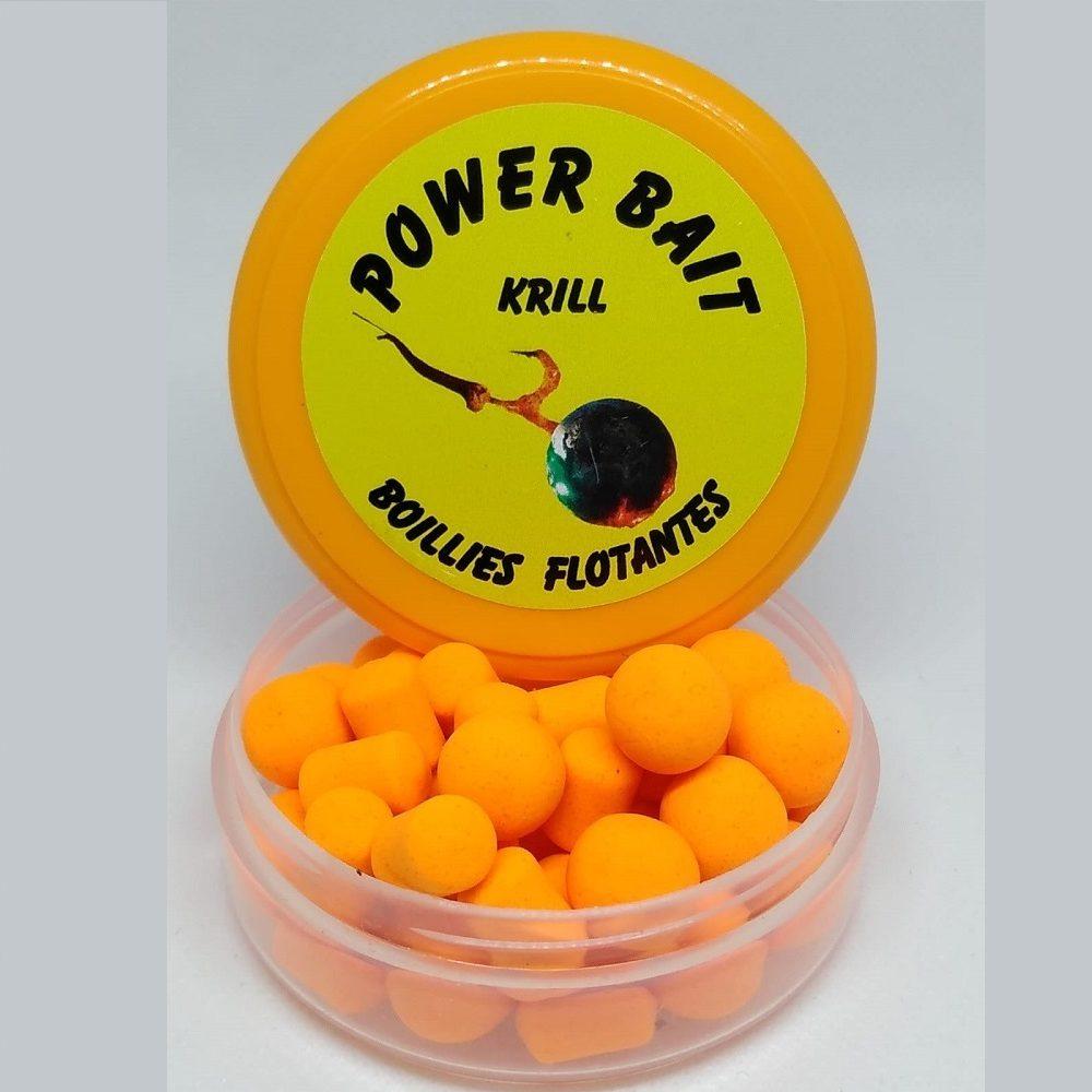 POWER BAIT BOILIES FLOTANTES KRILL