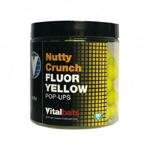 VITALBAITS POP UPS NUTTY CRUNCH FLUOR YELLOW 14 MM EL CARPODROMO