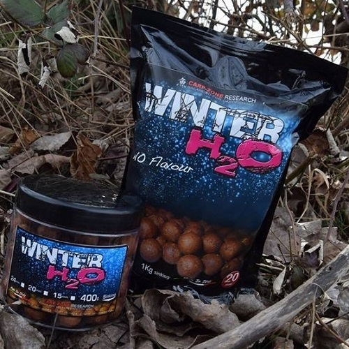 CARP ZONE BOILIES WINTER H2O 1 KG 20 MM EL CARPODROMO
