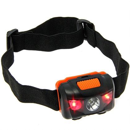 NGT FLED HEADLIGHT WITH WHITE AND RED LIGHT 100 LUMENS EL CARPODROMO 2
