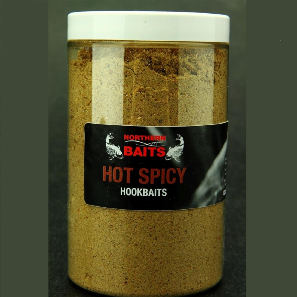 NORTHERN BAITS HOT SPICY HARD HOOKBAIT MIX 225 G EL CARPODROMO