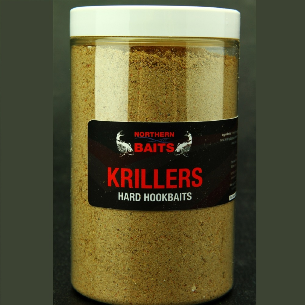 NORTHERN BAITS KRILLER HARD HOOKBAIT MIX 225 G EL CARPODROMO