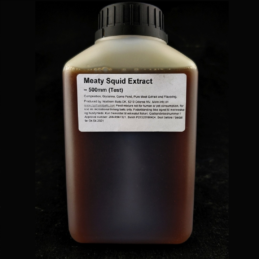 NORTHERN BAITS MEATY SQUID EXTRACT LIQUID 500 ML EL CARPODROMO