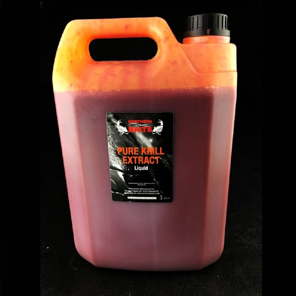 NORTHERN BAITS PURE KRILL EXTRACT LIQUID FOOD 5000 ML