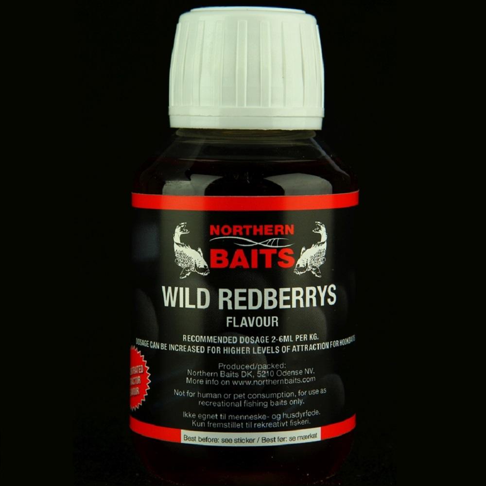 NORTHERN BAITS WILD REDBERRIES FLAVOURS 100 ML EL CARPODROMO