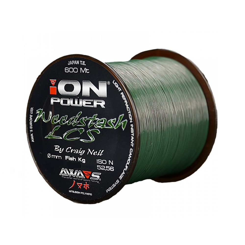 awa shima ion power weedstash lcs 0347mm 2110kg 600m. el carpodromo