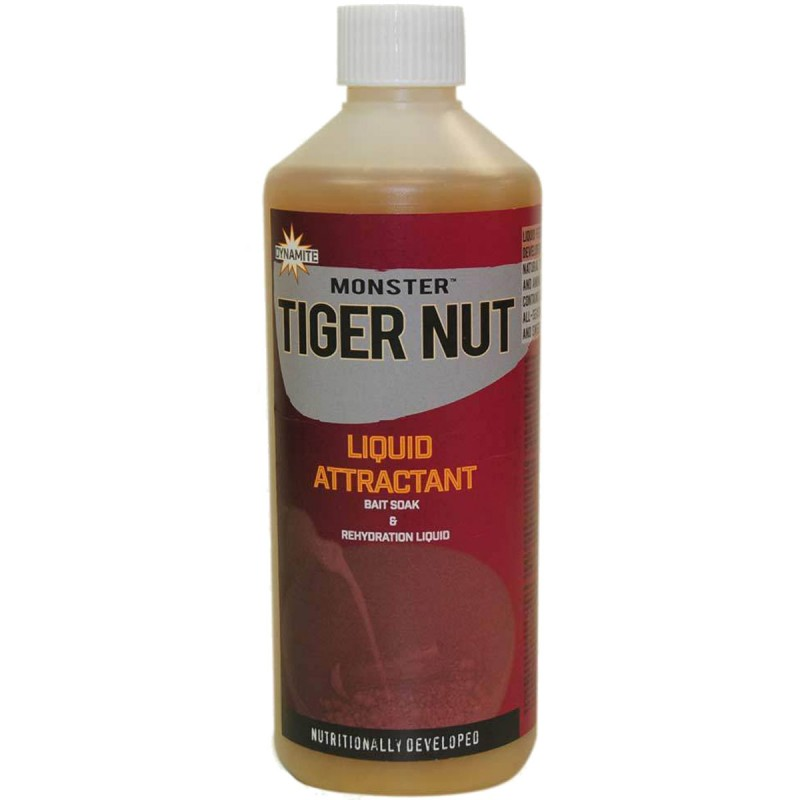 dynamite baits monster tiger nut liquid attractant 500ml
